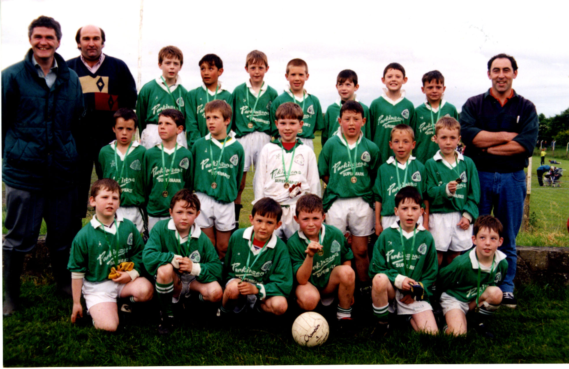 Community Games Football Winners 1998