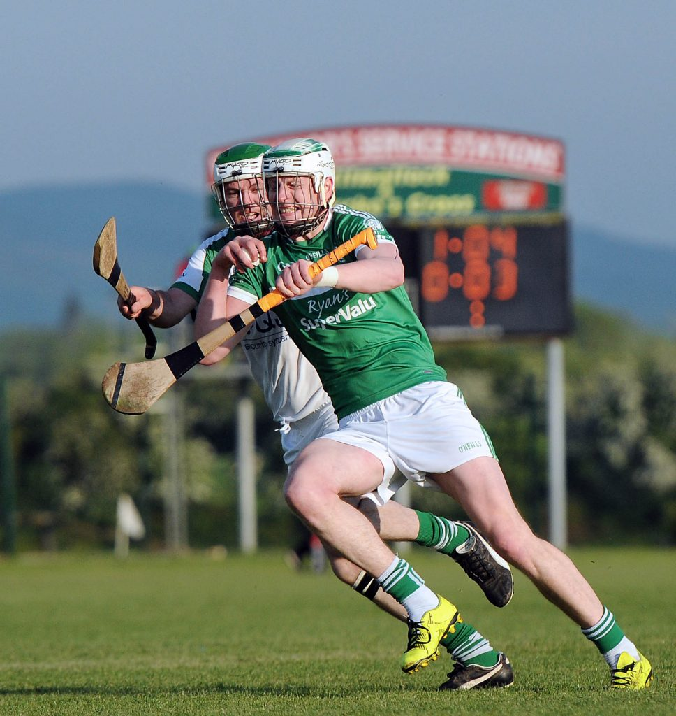 Robbie Egan - makin' faces. Kilmallock v Ballybrown, Senior Hurling 2016